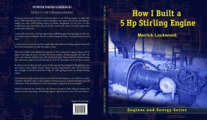 how I built a 5 hp stirling engine book front and back cover