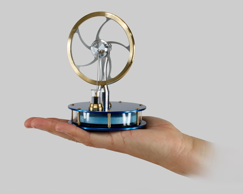 MM-K Stirling Engine Heat of Your Hand Kit | American